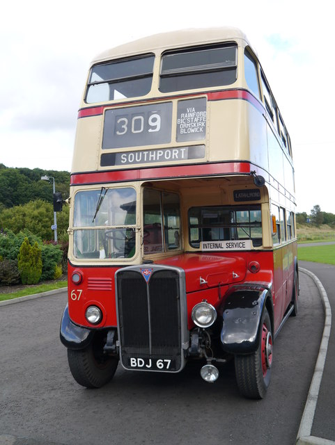 AEC Regent 3RT At The Scottish Vintage Bus Museum
