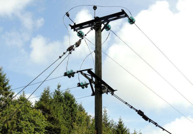 Overhead lines, Coleraine