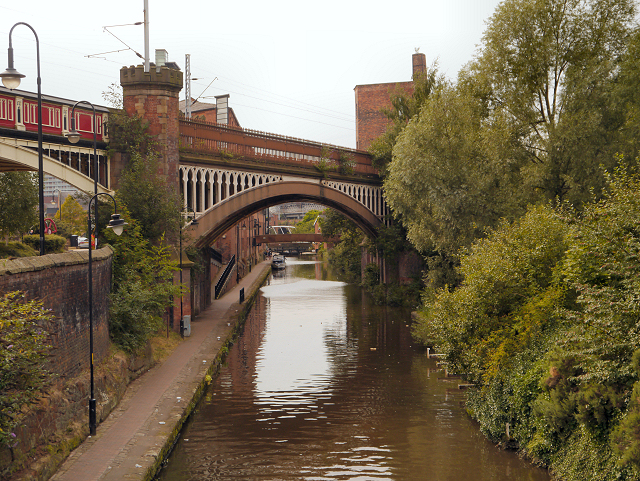 Rochdale Canal at Castlefield