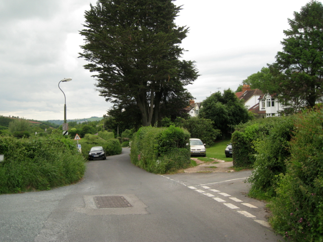 Junction of Stoke Road and Longpark Hill