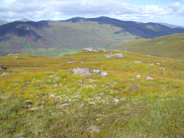Ridge to west of Glas Choire above Glen Cannich, Inverness