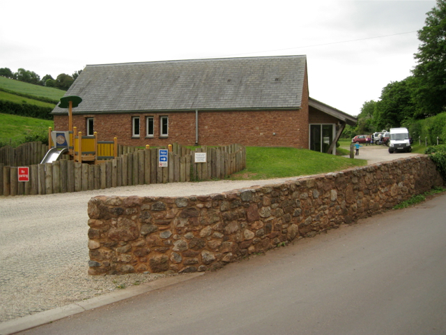 Stokeinteignhead's new village hall
