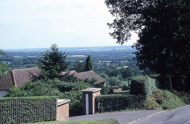 View from Toys Hill Road