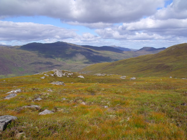 Ridge above Glas Choire near Glen Cannich, Inverness