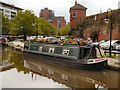 SJ8397 : Bridgewater Canal, Castle Quay by David Dixon