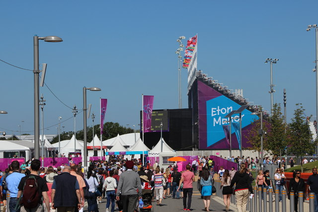 Eton Manor arena, Olympic Park