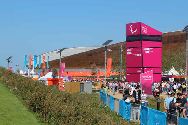 Park Live entrance and Velodrome