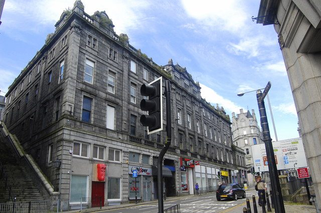 Victoria Buildings, Bridge Street, Aberdeen