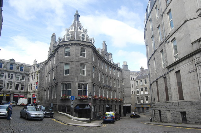 The Royal Hotel, Bath Street, Aberdeen