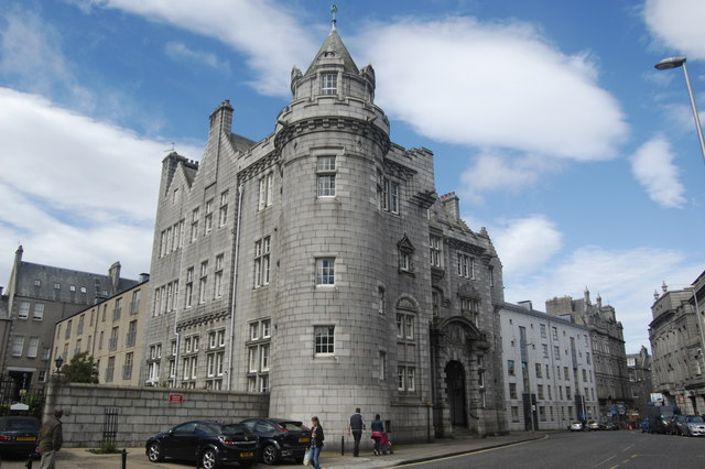 Former Aberdeen GPO, Crown Street