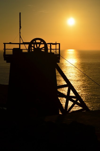 Levant Mine - Sunset