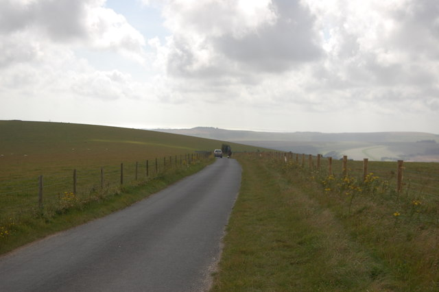 The South Downs Way - coming off Truleigh Hill