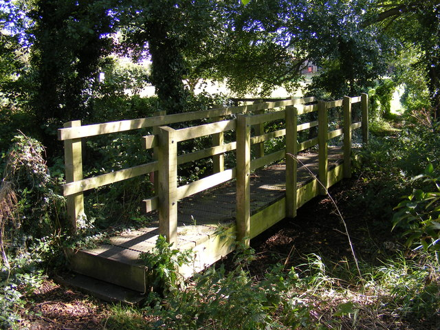 Footbridge near the River Blyth