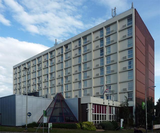 Hotel, St Nicholas Circle, Leicester