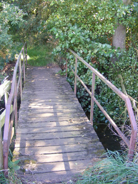 Footbridge over the River Blyth