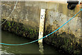 C8138 : Depth marker, Portstewart harbour by Albert Bridge