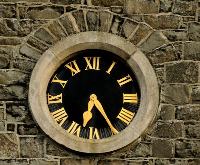 Church clock, Portstewart