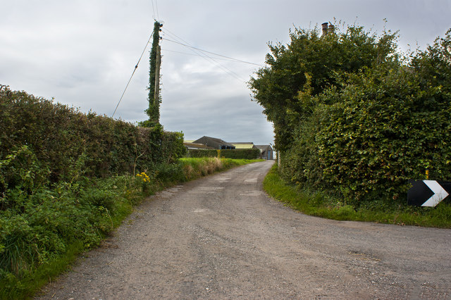 Footpath to Blackmoss Farm