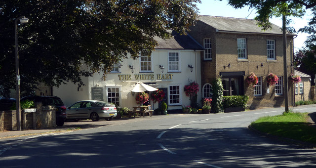 """The White Hart"" public house, Fulbourn"