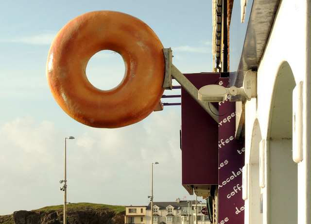 &quot;Donut&quot; sign, Portstewart