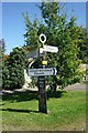 TL5256 : Road signpost, Fulbourn by Julian Osley