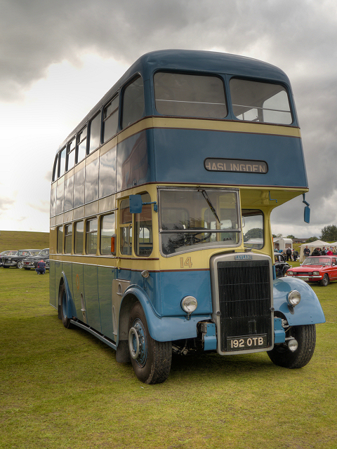 Trans Lancs Historic Vehicle Rally, Heaton Park