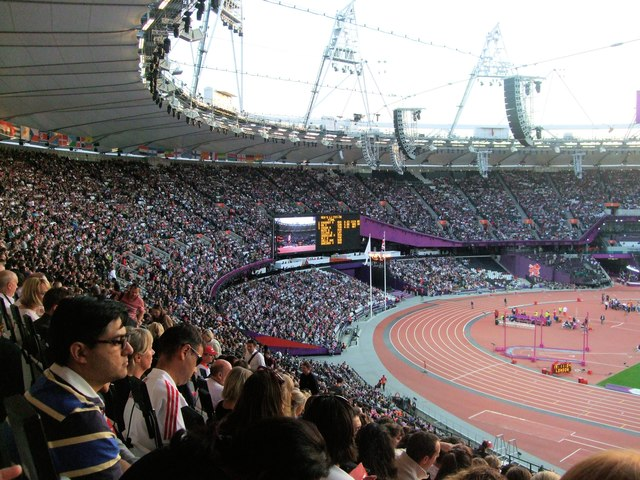 A Full Olympic Stadium