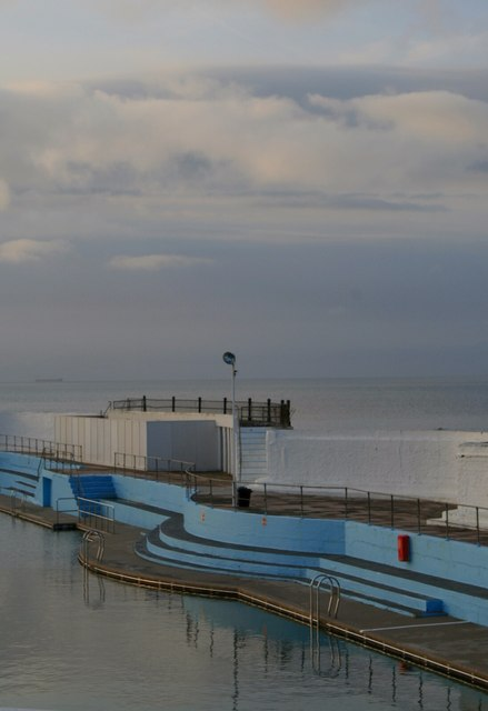 The Penzance swimming pool