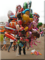 SD8303 : Balloon Seller at Heaton Park by David Dixon