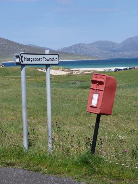 Horgabost: postbox № HS3 137