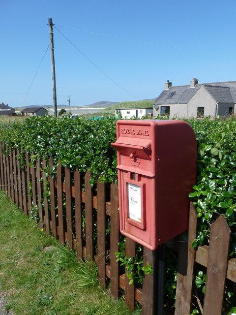 Seilebost: postbox № HS3 139
