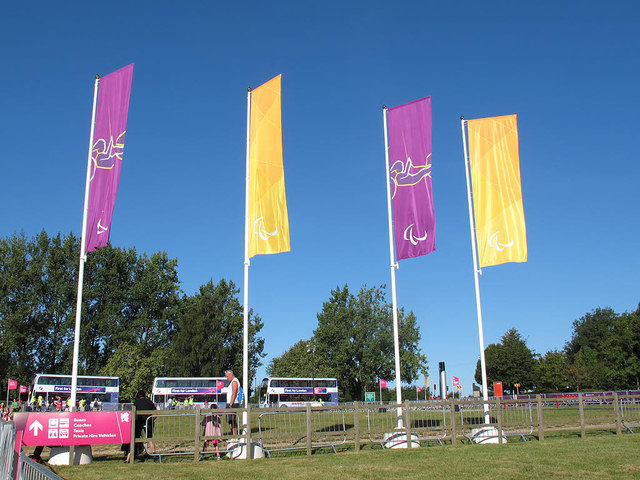 Brands Hatch paralympics - banners