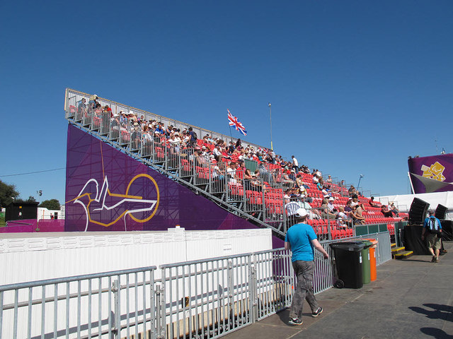 Brands Hatch paralympics - the stand