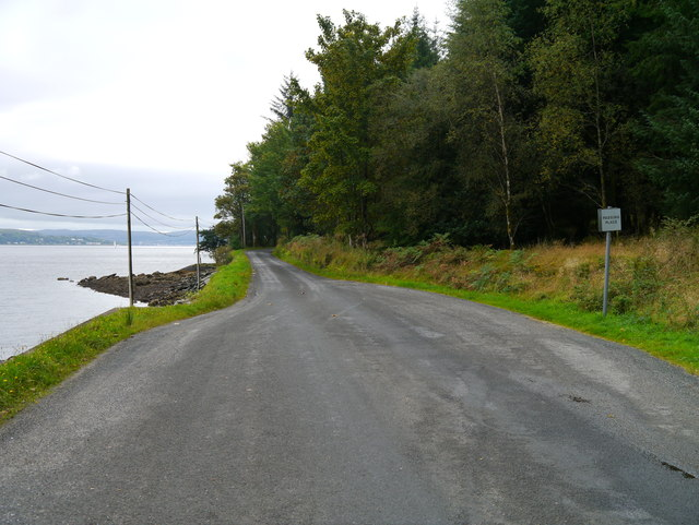 Coastal Road South Of Ardentinny