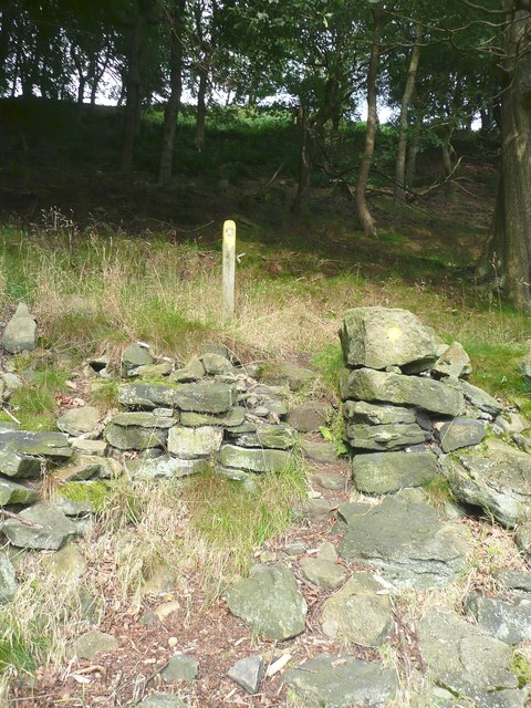 Stile on Hebden Royd FP17