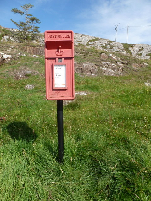 Scalpay: postbox № HS4 147, Outend
