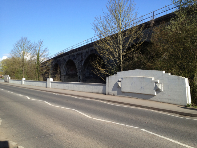 East parapet of Prince's Bridge