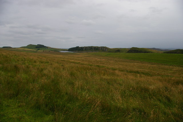 Crags along the line of Hadrian's Wall, from the north