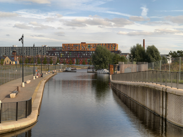 Rochdale Canal, New Islington