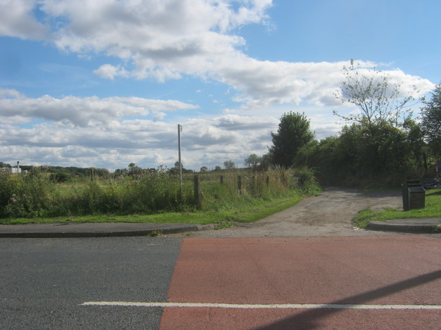 Public Bridleway off Shotton Road