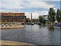 SJ8598 : Rochdale Canal, New Islington Marina by David Dixon