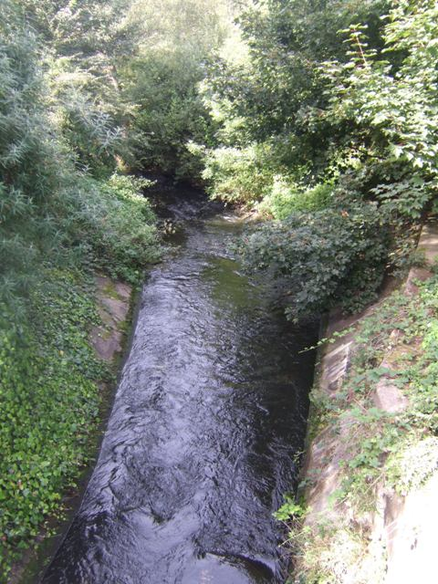Ford Brook - Downstream at Mill Lane