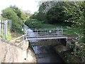 SP0199 : Ford Brook - Debris screen upstream of Mill Lane by John M