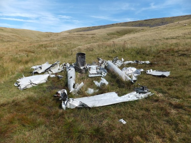 Air crash site in late 2012