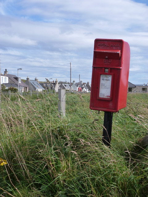 Port of Ness: postbox № HS2 73