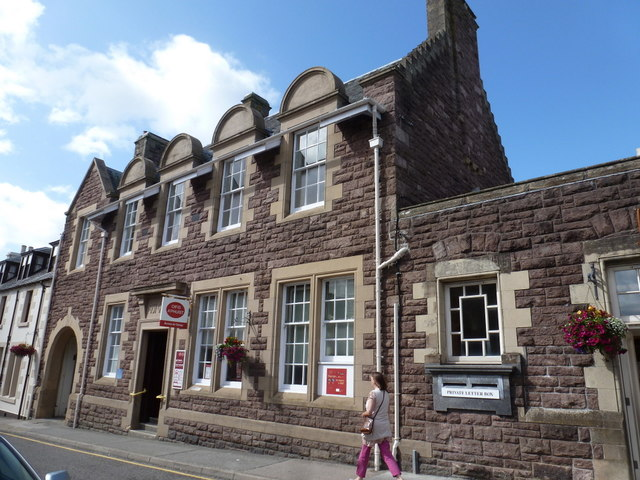 Stornoway: the main post office