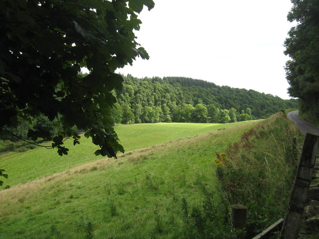 A view over the valley of the Whiteadder Water