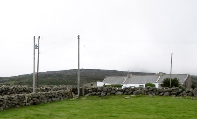 Traditional Mourne cottage at Crockanroe