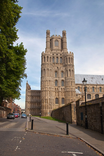 The West Tower - Ely Cathedral