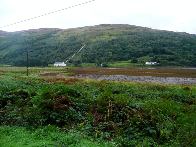 The drying head of Loch Striven